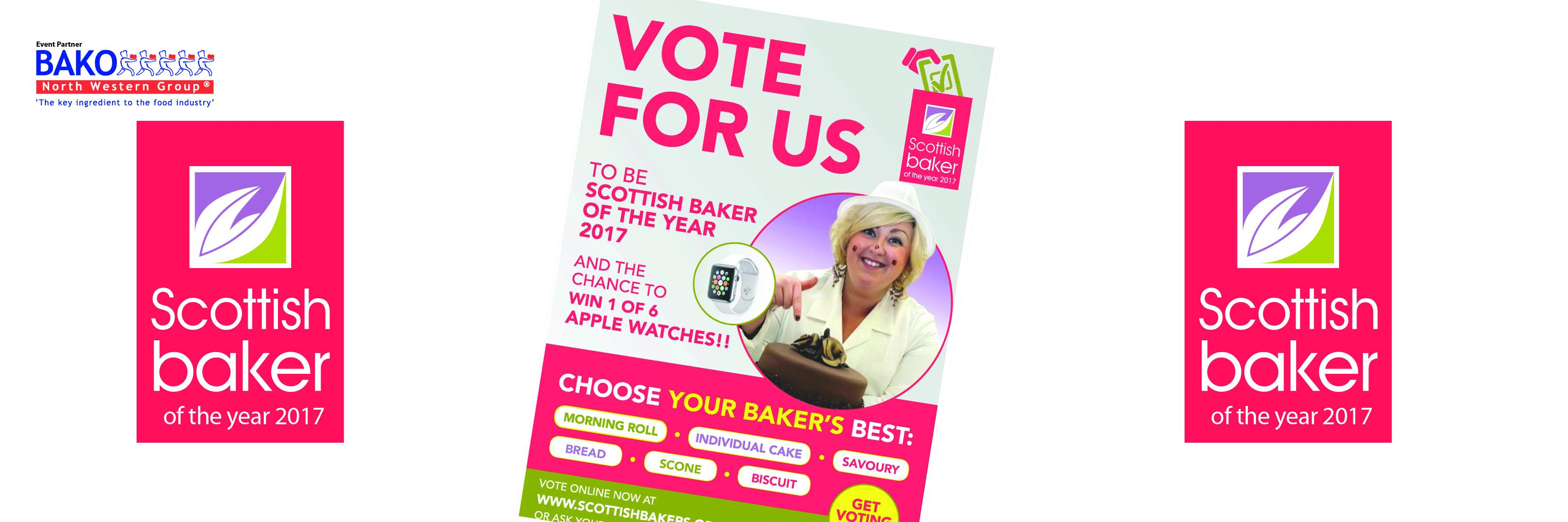 Scottish Baker of the year banner